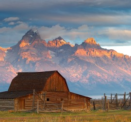 Mormon Barn, Teton National Forest